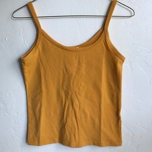 Forever 21 Yellow Tanktop